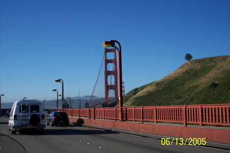 Golden Gate Bridge....South Bound