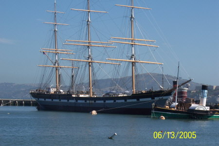 San Francisco............Old Sailling Ship
