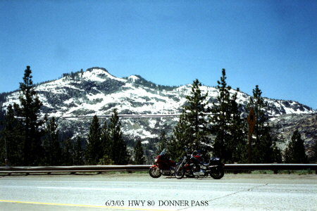 Highway 80  Donner Pass