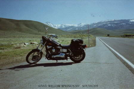 Willow Springs, NV.....South 395